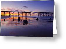 Steeley Pier Greeting Card