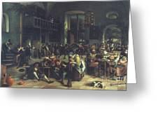 Steen: Merrymaking, 1674 Greeting Card