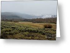 Steens Mountain Landscape - No 2a Greeting Card