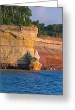 Steep Cliffs Greeting Card