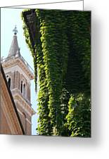 Steeple And Ivy Greeting Card