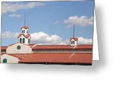 Steeple Chase Greeting Card