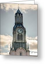 Steeple In Haverhill Ma Greeting Card