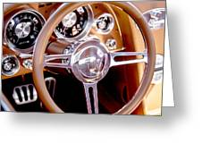 Steering History Greeting Card