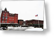 Stegmaeir Brewery - Wilkes Barre Pa Greeting Card