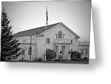 Steilacoom Town Hall Greeting Card