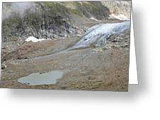 Stein Glacier, Switzerland Greeting Card by Science Photo Library