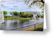 Steinbrenner Field Lake 2 Greeting Card