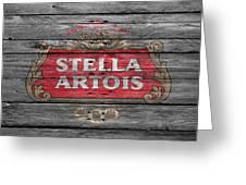 Stella Artois Greeting Card