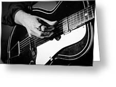 Stella Burns - Guitar Close-up Greeting Card