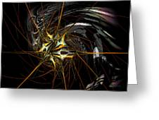 Stellar Spikes Greeting Card