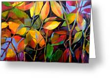 Stems And Leaves No. 76 Greeting Card