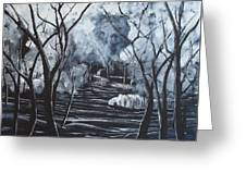 Step Into The Woods Greeting Card