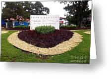 Stephen Circle Gardens 5 Greeting Card