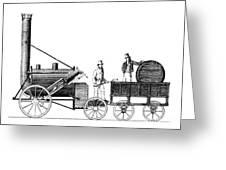 Stephensons Rocket 1829 Greeting Card