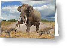 Steppe Mammoth Greeting Card