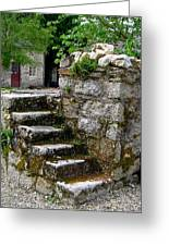 Steps To Nowhere Greeting Card