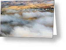 Steptoe Fog Clearing Greeting Card