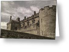 Sterling Castle Scotland Sterling Closed Grey Greeting Card