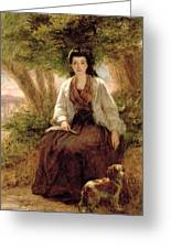 Sternes Maria, From A Sentimental Greeting Card by William Powell Frith