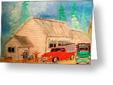 Ste.sophie's Farmers Montreal Memories Greeting Card by Michael Litvack