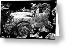 Steudebaker Truck Greeting Card