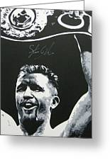 Steve Collins 4 Greeting Card
