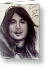 Steve Perry Drawing By Paula Soesbe