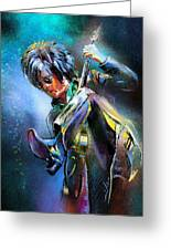 Steve Stevens Greeting Card