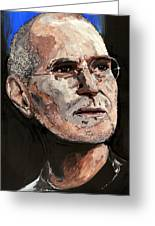 Steven Paul Jobs Greeting Card