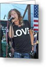 Steven Tyler Sings Greeting Card