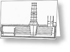 Stevens: Sectional Boiler Greeting Card