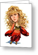 Stevie Nicks Greeting Card