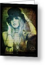 Stevie Nicks - Bohemian Greeting Card