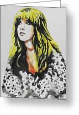 Stevie Nicks 02 Greeting Card