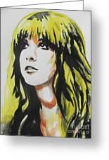 Stevie Nicks 01 Greeting Card