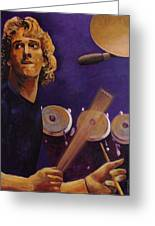 Stewart Copeland - The Police Greeting Card