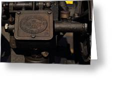 Stickney Hit And Miss Engine Greeting Card
