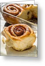Sticky Cinnamon Buns Greeting Card