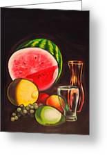 Still Life Greeting Card by Dayna Reed