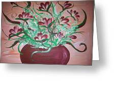 Still Life Floral Greeting Card