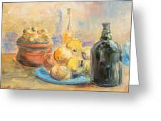 Still Life From Italy Greeting Card