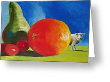 Still Life Painting Greeting Card