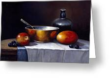 Still Life Rhapsody Greeting Card by John Zaccheo