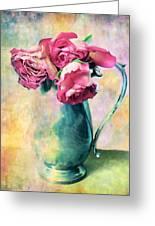 Still Life Roses Greeting Card