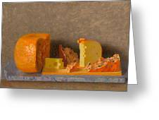 Still Life With Cheese Greeting Card