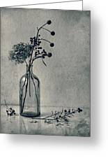 Still Life With Dry Flowers Greeting Card