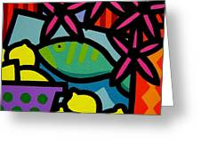 Still Life With Fish Greeting Card