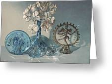 Still Life With Shiva Greeting Card