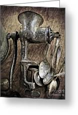 Still Life With Silverware Greeting Card by Elena Nosyreva
